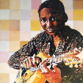 Muddy Waters (acryl på lærred 40x40cm)