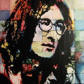 John Lennon (acryl på lærred 40x40cm)