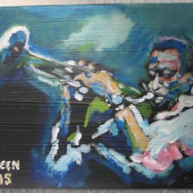 Miles Davis (solgt)